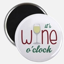 Wine OClock Magnets