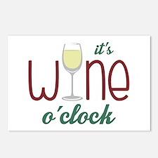 Wine OClock Postcards (Package of 8)
