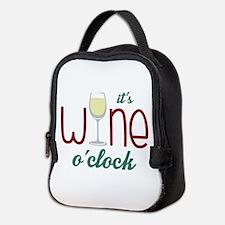 Wine OClock Neoprene Lunch Bag