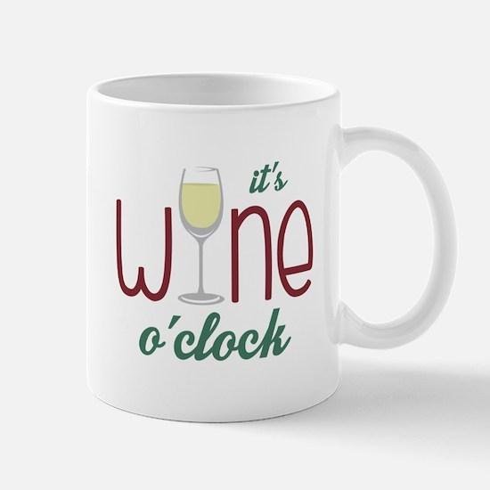 Wine OClock Mugs