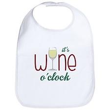 Wine OClock Bib