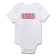 Mess With Shepherd Infant Bodysuit