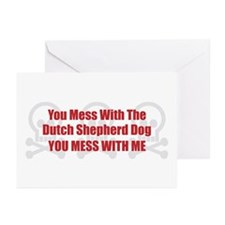 Mess With Shepherd Greeting Cards (Pk of 10)