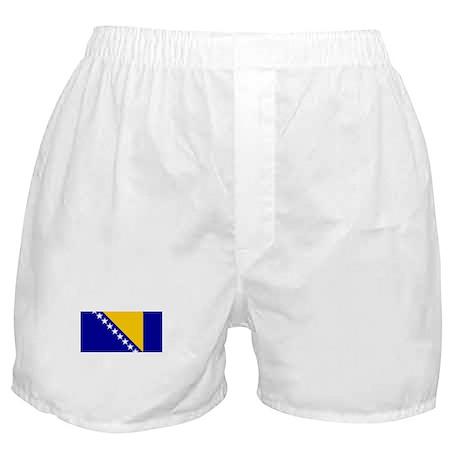 bosnia herzegovina flag Boxer Shorts