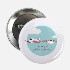 """Plane Awesome 2.25"""" Button (10 pack)"""