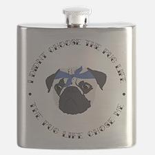 Cute Funny slogan Flask