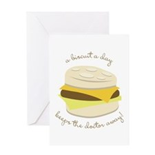 Biscuit a Day Greeting Cards