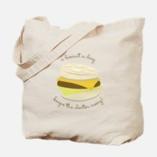 Biscuit a Day Tote Bag