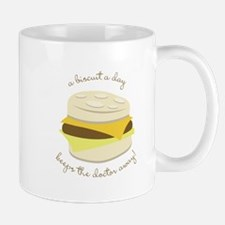 Biscuit a Day Mugs
