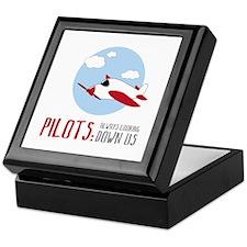 Pilots:Always Looking Down Us Keepsake Box