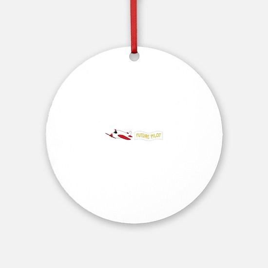 Future Pilot Ornament (Round)