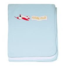 Future Pilot baby blanket