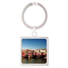 Portsmouth NH Square Keychain