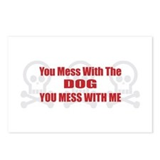 Mess With Dog Postcards (Package of 8)