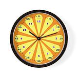 Math kids Wall Clocks