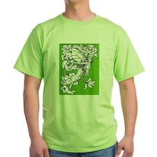 Women's Pretty Green Fairy T-Shirt