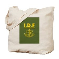IDF Israel Defense Forces - with Symbol - ENG Tote