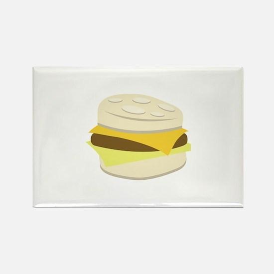 Biscuit Breakfast Sandwich Magnets