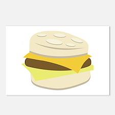 Biscuit Breakfast Sandwich Postcards (Package of 8