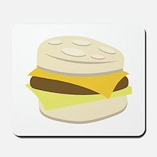 Biscuit Breakfast Sandwich Mousepad