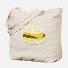 Biscuit Breakfast Sandwich Tote Bag
