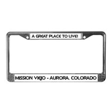 Cute Mission viejo License Plate Frame