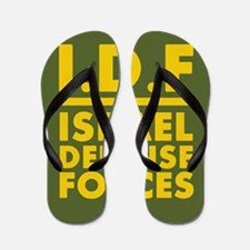 IDF Israel Defense Forces2 - FULL Flip Flops