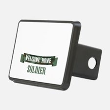 Welcome Home Soldier Hitch Cover