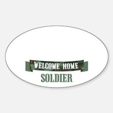 Welcome Home Soldier Decal