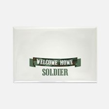 Welcome Home Soldier Magnets