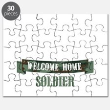 Welcome Home Soldier Puzzle