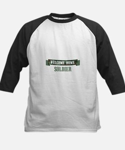 Welcome Home Soldier Baseball Jersey