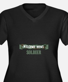 Welcome Home Soldier Plus Size T-Shirt