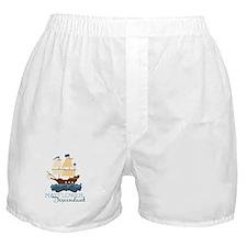 Mayflower Descendant Boxer Shorts