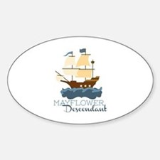 Mayflower Descendant Decal