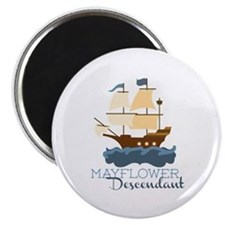 Mayflower Descendant Magnets