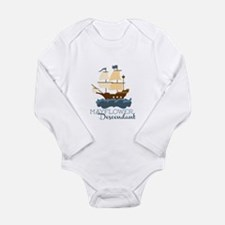 Mayflower Descendant Body Suit