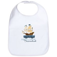 Mayflower Descendant Bib