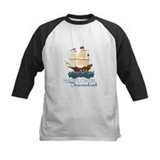 Mayflower Descendant Baseball Jersey