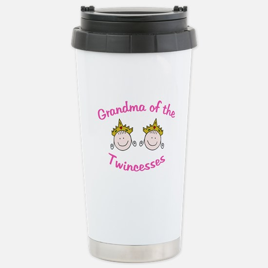 Grandma of Twincesses Mugs