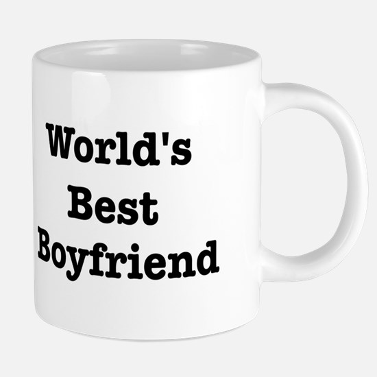 Worlds Best Boyfriend Mugs