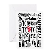 Cute Negotiator Greeting Card