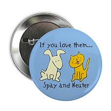 You Love Them Spay & Neuter Button