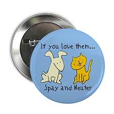 You Love Them Spay & Neuter Button (10 pk)