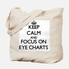 Cute Snellen chart Tote Bag