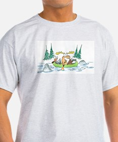 Animals in a Canoe T-Shirt