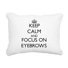 Cool Your face Rectangular Canvas Pillow