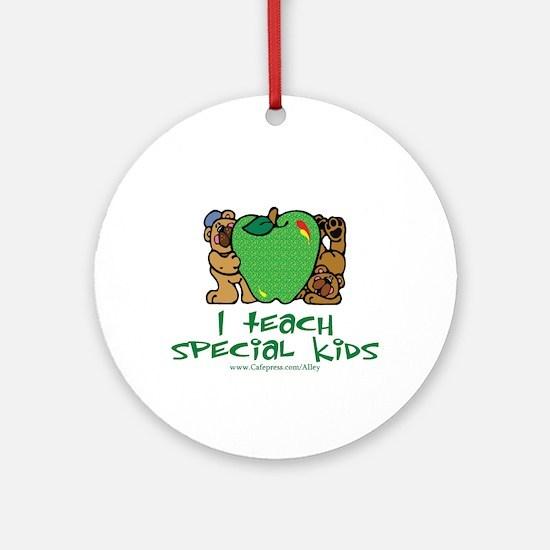 Teach Special Kids Ornament (Round)
