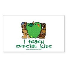 Teach Special Kids Rectangle Decal