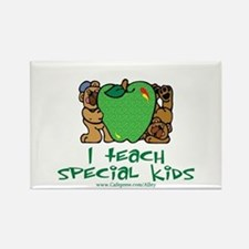 Teach Special Kids Rectangle Magnet